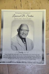 Homegoing Celebration of Linwood B Sexton April 7, 2017