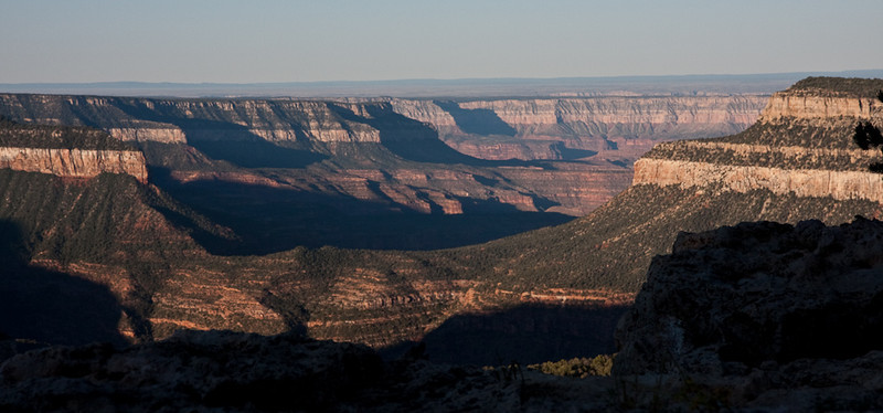This is only a mediocre view by Grand Canyon standards.