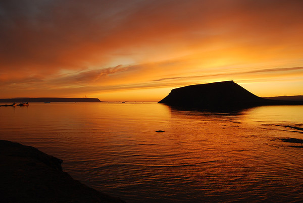 Greenland-Thule-Sunsets