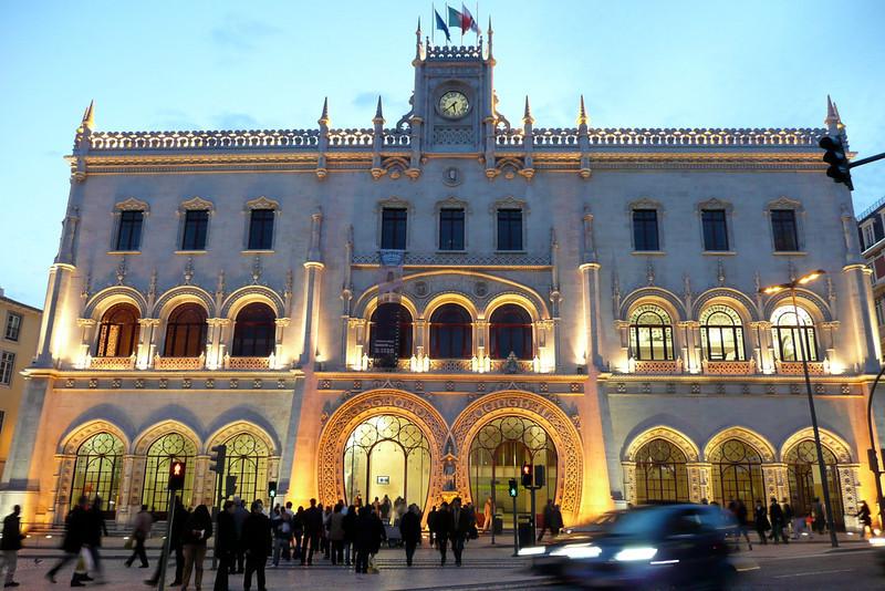 Rossio Train Station. Baixa, Lisbon