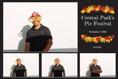 Worthe's Central Park's Pie Festival 11/7/18