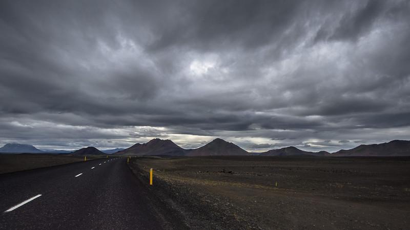The vast lava deserts of North Eastern Iceland.