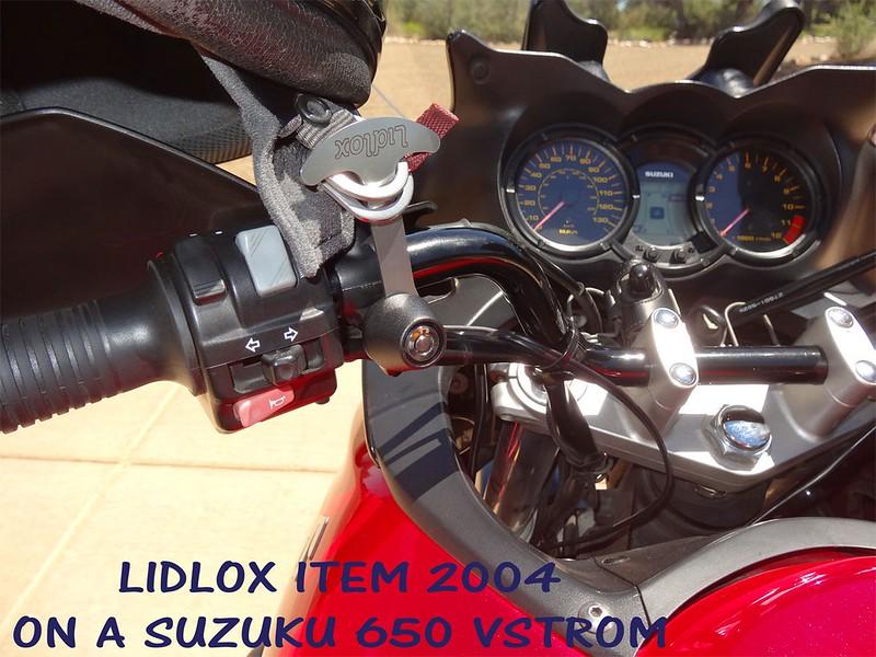 Item 2004 on a 2005 650 Suzuki Vstrom
