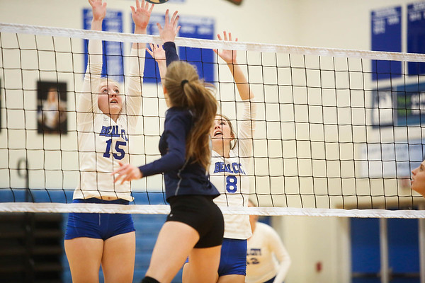 MS Beal City vs Hemlock District Volleyball 181102