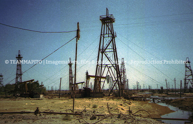 Oil fields oldskool film locations - we scout locations for a living