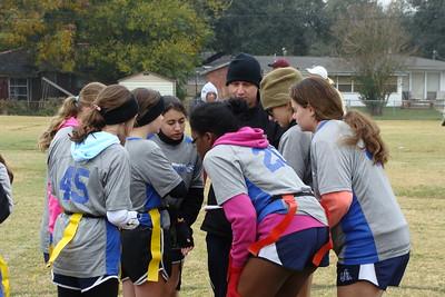 2013-12-07 Girls Flag Football