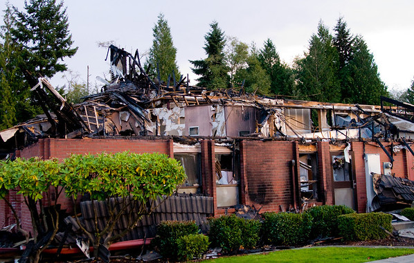 Oct 2010 Arson Mukilteo Church House