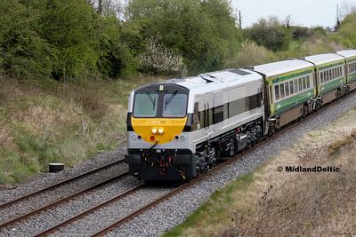 Rosskelton / Portlaoise (Rail), 03/05-2016