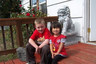 Noah and Kaara End of September 2007