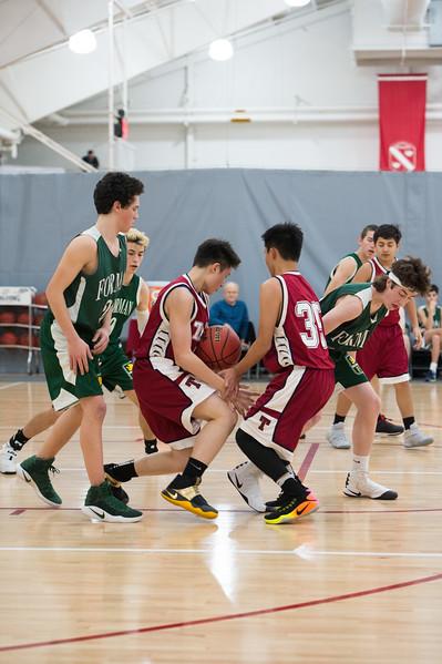 2/1/17: Boys' Fourths Basketball v Forman