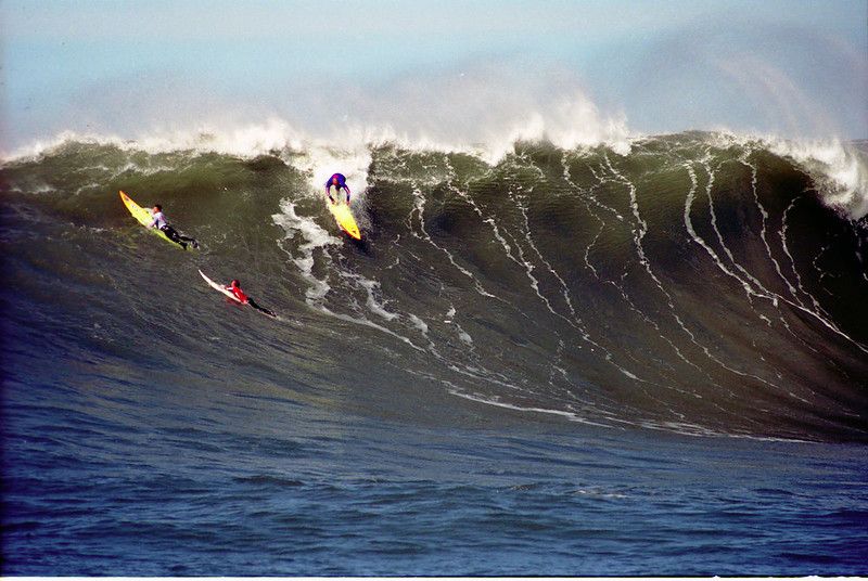 . Jay Moriarity takes off in the 2000 contest.  (Dan Coyro/Sentinel)