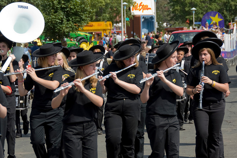 Band during the 2009 Minnesota State Fair parade