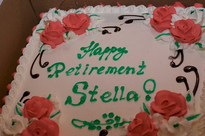 Stella Slade's Retirement Party of 7/11/17.