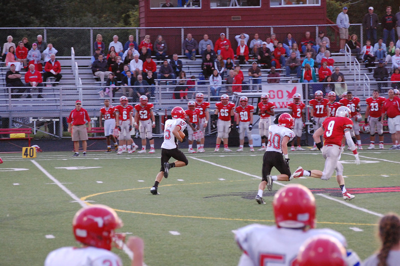 Lutheran West Longhorns pull off a 29-28 overtime win over Hawken on Sept 6, 2013.