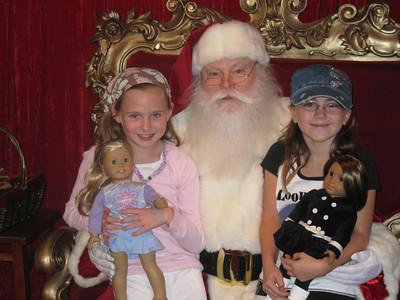 Katherine, Jackson & Santa @ The Grove