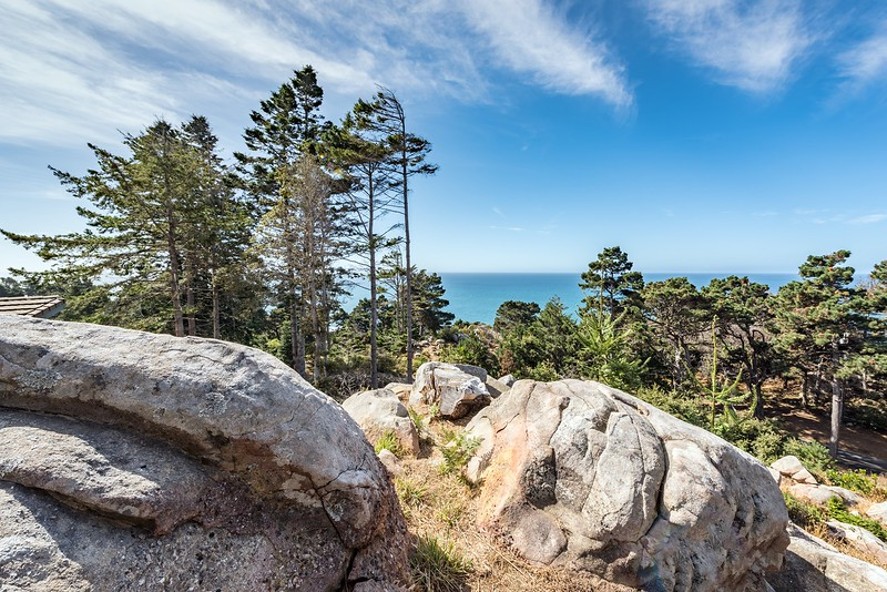 Rocky Landscape with Ocean Views