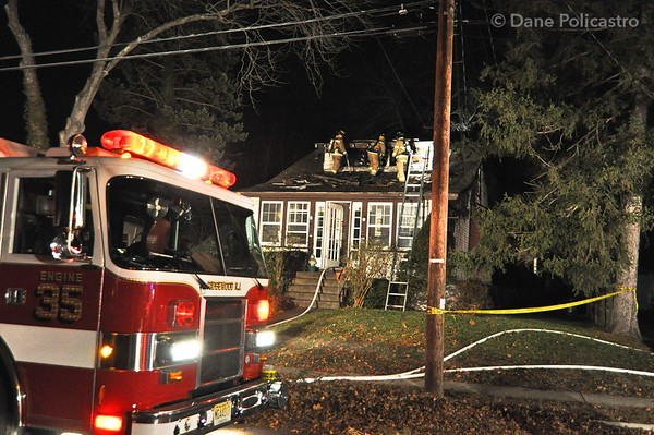 12-6-10 Ridgewood, NJ 2nd Alarm: 543 Laurel Road