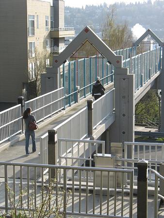 Galer Street Ped. Bridge Seattle, WA