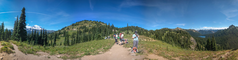 Naches Loop Trail Stitched Panorama