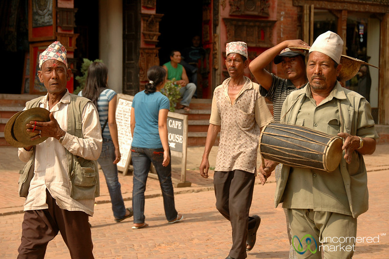 Music in the Streets - Bakhtapur, Nepal