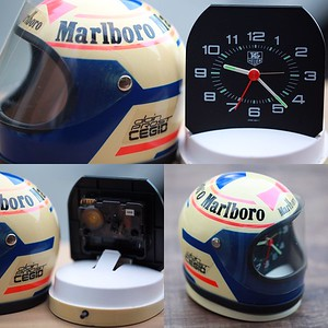 Heuer Helmet Clocks