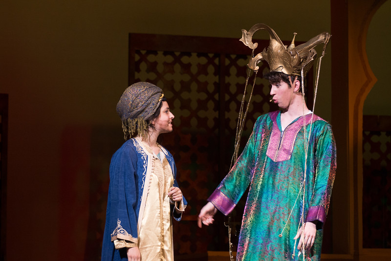 "Hajj with Omar Khayyam (""The Olive Tree"") -- Kismet, Montgomery Blair High School spring musical, April 15, 2016 performance (Silver Spring, MD)"