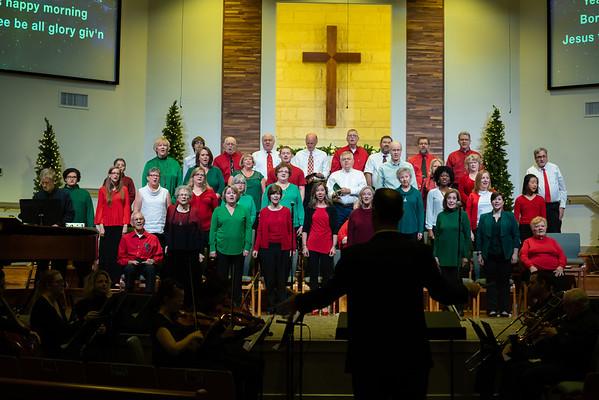 Dec 8th, Christmas Service