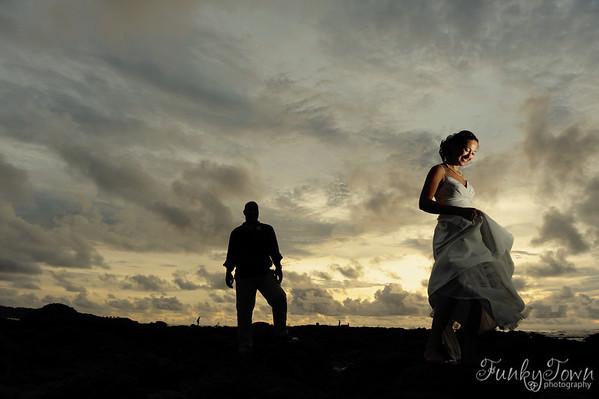 Elleen & Bill's Sneak Peek - Tamarindo Costa Rica Wedding