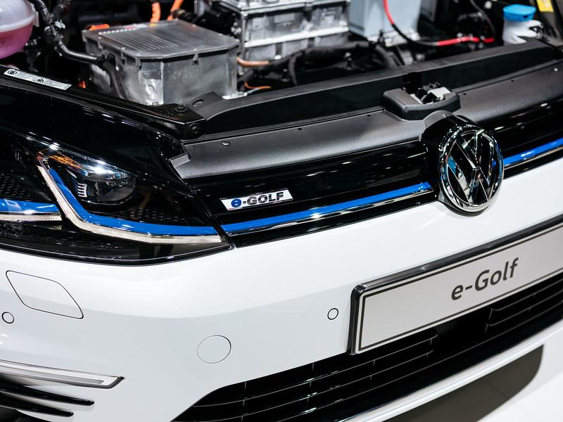 The Volkswagen E-Golf - Samuel Zeller for the New York Times