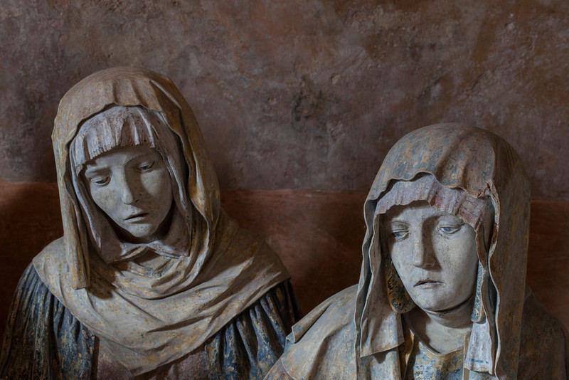Chaource, Eglise Saint-Jean-Baptiste - The Entombment - Mary Sal
