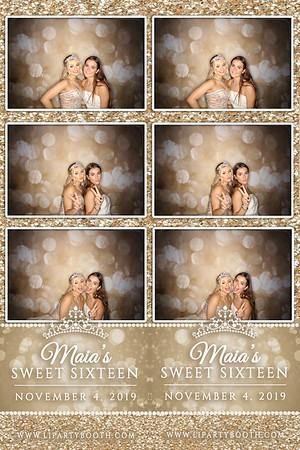 Maia's Sweet 16