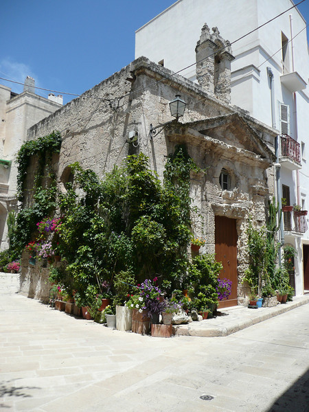 On the streets of Monopoli