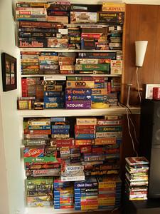 Games Shelf