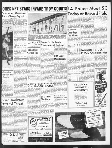 Daily Trojan, Vol. 39, No. 122, April 20, 1948