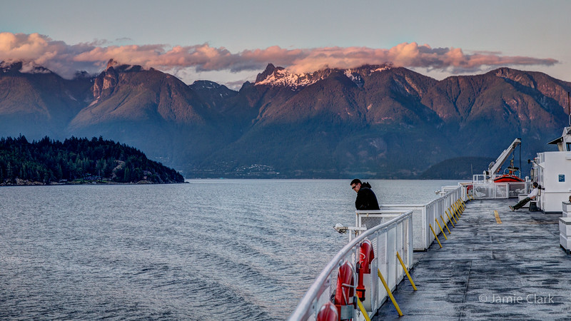 Ferry to Gibsons. British Columbia