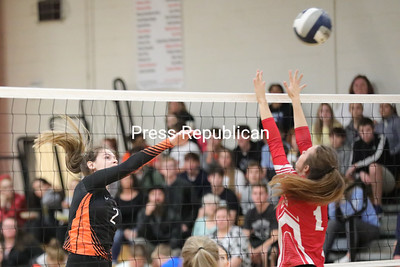 Volleyball – Plattsburgh High vs. Saranac
