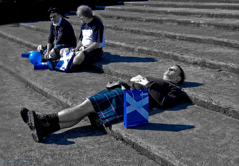 Rock Trust Edinburgh Kilt Walks 2006 -2008