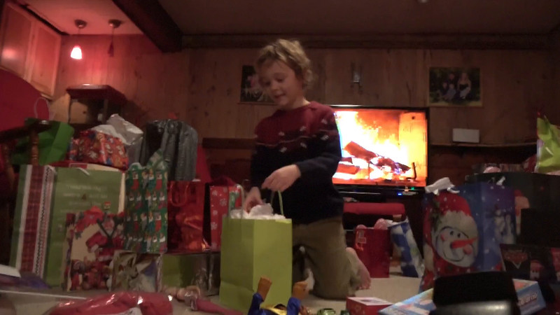 Christmas Day Home, part five, 2016