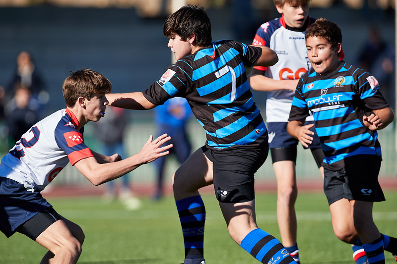 Liceo Francés Azul vs Industriales Azul: 33-0