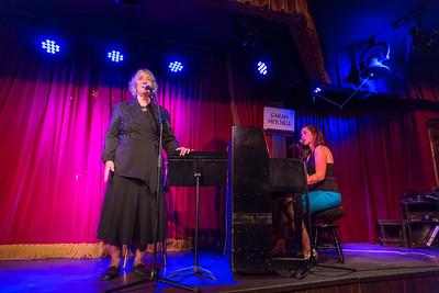 Sarah Mitchell with Ron Drotos at the Palace Saloon