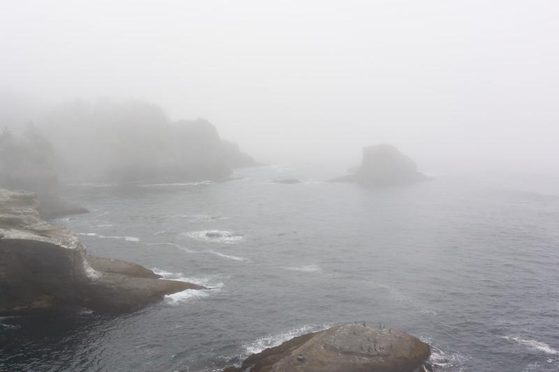 Fog and more fog