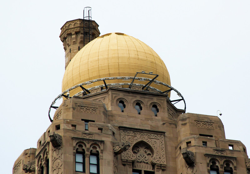 A Turnip dome tops the Metropolitan Building.