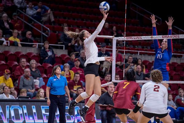 ISU Volleyball vs KU 10/02/19