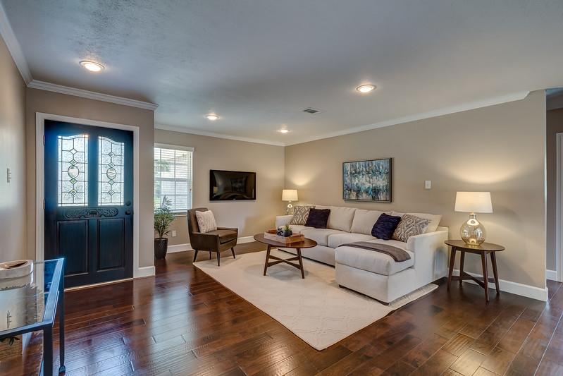 Living Room & Entry
