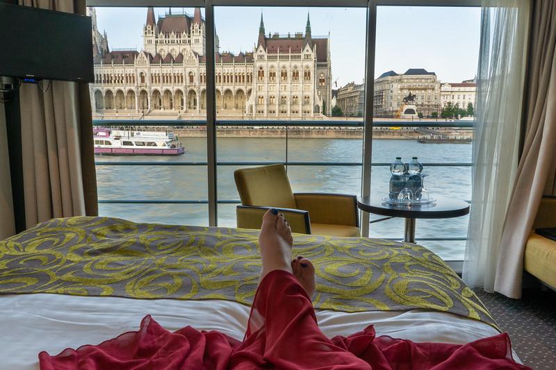 Onboard the Avalon Impression in Budapest