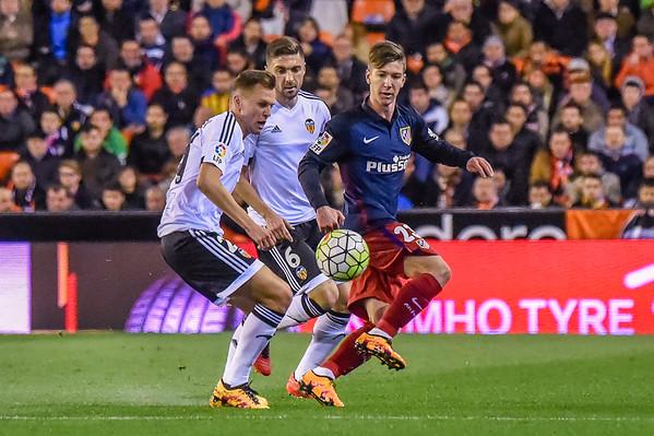 La Liga - Valencia FC vs Atlectico de Madrid - 20160306