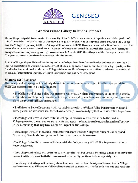 College-Village Compact