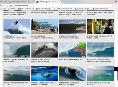 Surfer Magazine.com 2/9/17