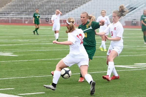 Washington vs. Kennedy Girls Soccer 4/19/16