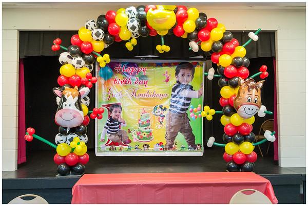 Girik Karthikeya 1st Birthday